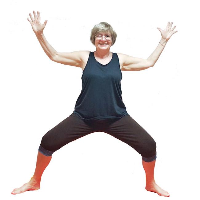 Joga za starije - Sofija Pekic Quarrie, instruktorka Minimal joge