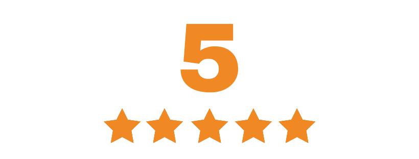 Pet zvezdica za pet nastavnih oblasti  za naš kurs za instruktore joge